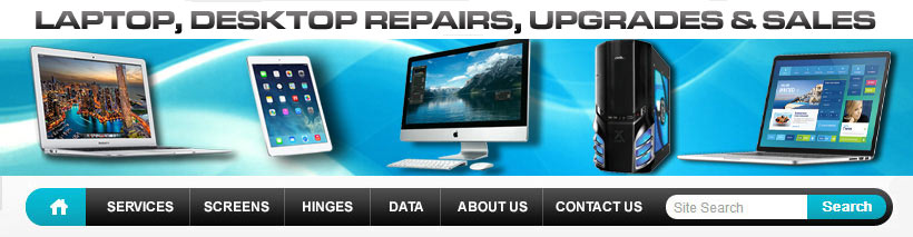 gold coast laptop screen repairs banner